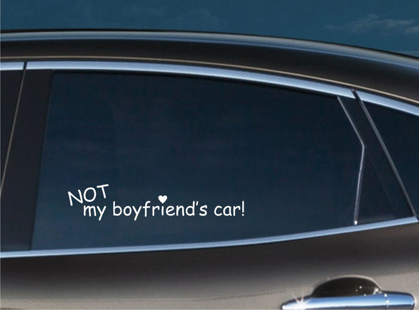Not My Boyfriend's Car!