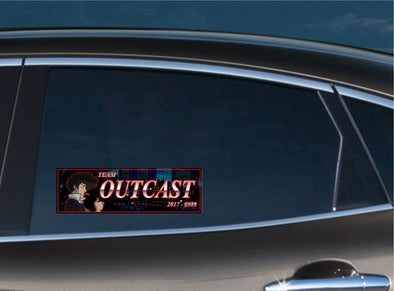 Team Outcast Slap Decal