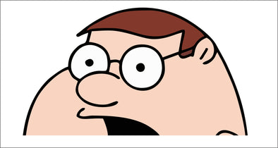 Peter Griffin Peeking (Family Guy)