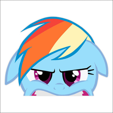 Rainbow Dash Peeking