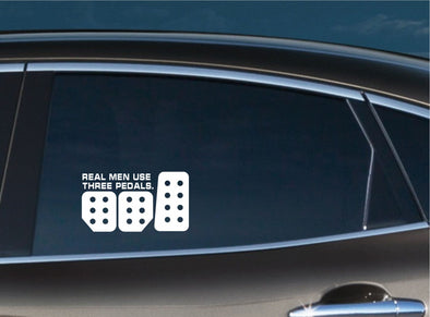 Real Men Use Three Pedals