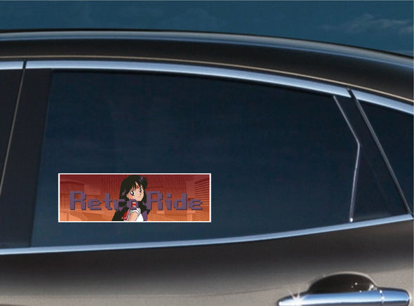 Retro Ride Sailor Mars Slap Decal