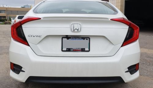 2016 2017 2018 Honda Civic Sedan Smoke Overlay Tint