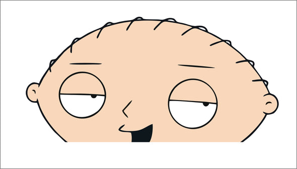 Stewie Peeking (Family Guy)