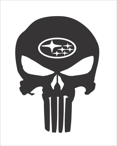 Skull Punisher Subaru