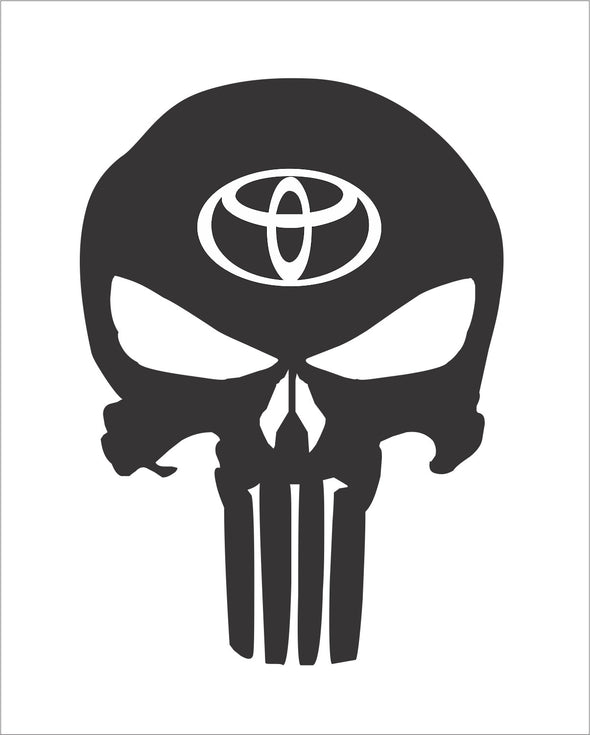Skull Punisher Toyota