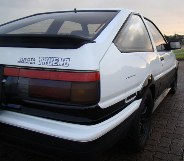 Toyota Sprinter Trueno Decal