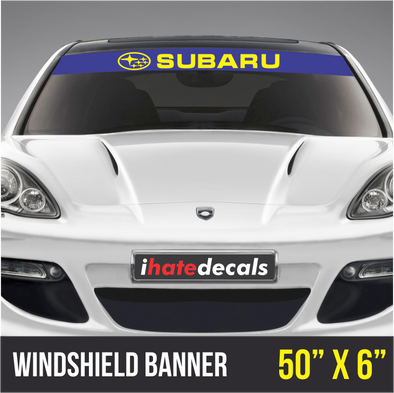 Windshield Banner Subaru