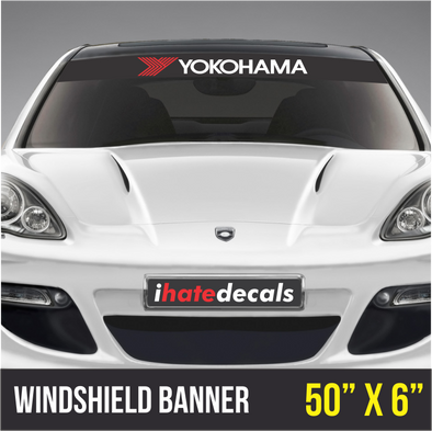 Windshield Banner Yokohama