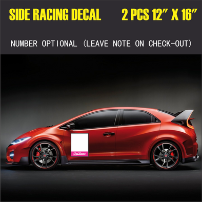 Girl Racer Car Racing Box