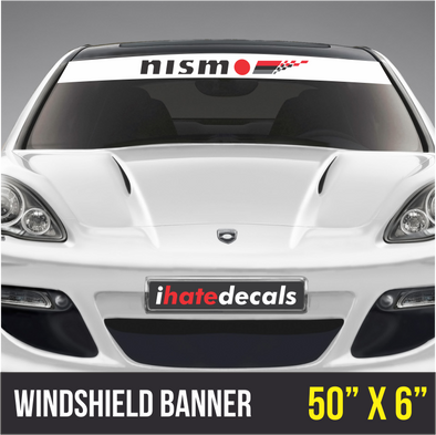 Windshield Banner Nismo