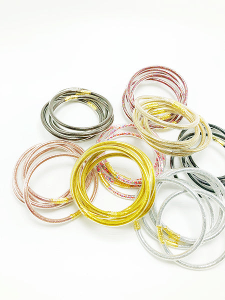 Jelly Bracelet Set of 5