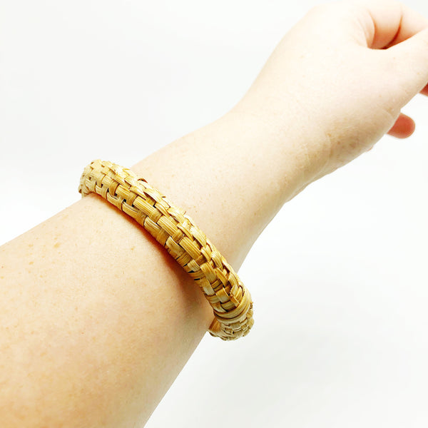 Small Woven Bangle