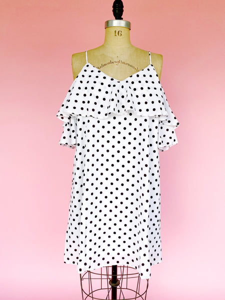 Dalmatian Dotted Dress