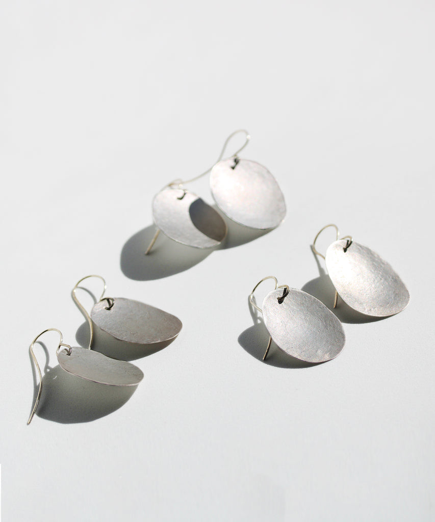 BOSCO Flash Earrings in Fine Silver