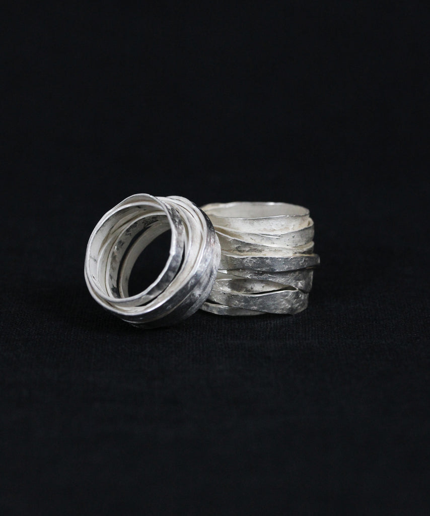 BOSCO Wrap Ring in Sterling Silver