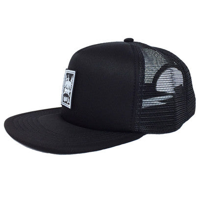 1910 Co. Black on Black Snapback Hat