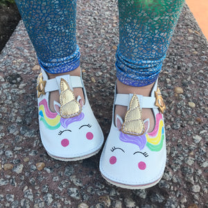 Unicorns T-straps Mary Janes