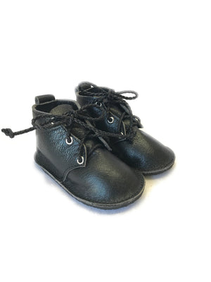 Christmas solid oxfords with rubber sole