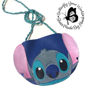 Blue Alien purse