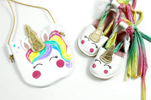 Unicorn girls purse