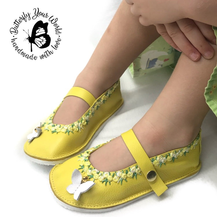 April Easter mary janes with rubber sole