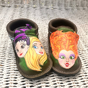 Halloween Women's witches Moccasins