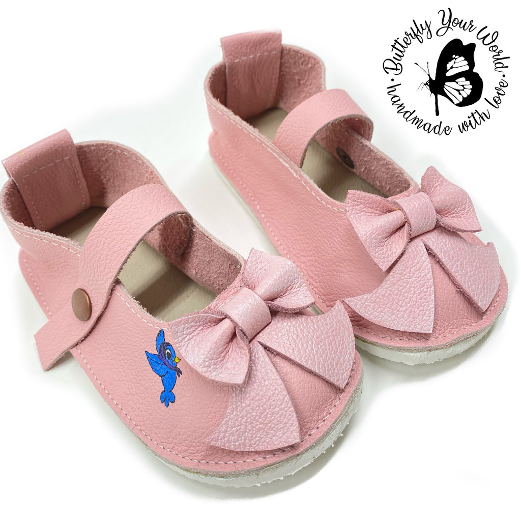 Pink princess Mary Janes