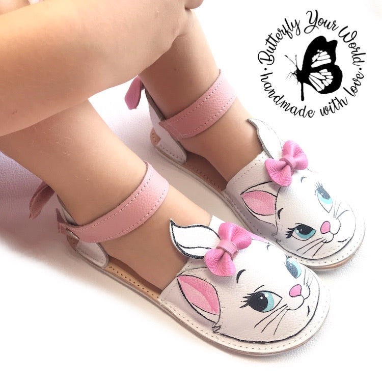 White Cat espadrilles with rubber soles