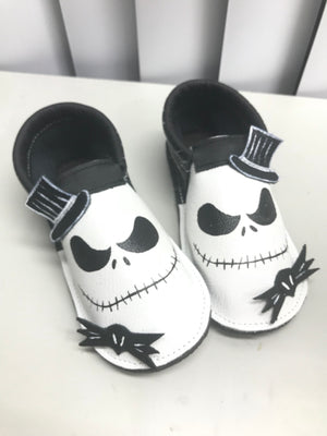 Halloween Women's Skeleton Moccasins