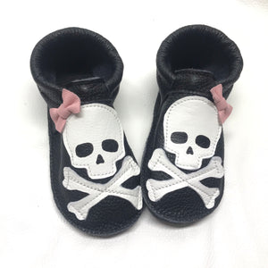 Halloween Skull and bones shoes with rubber soles