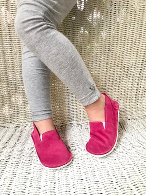 Unisex loafers with rubber sole