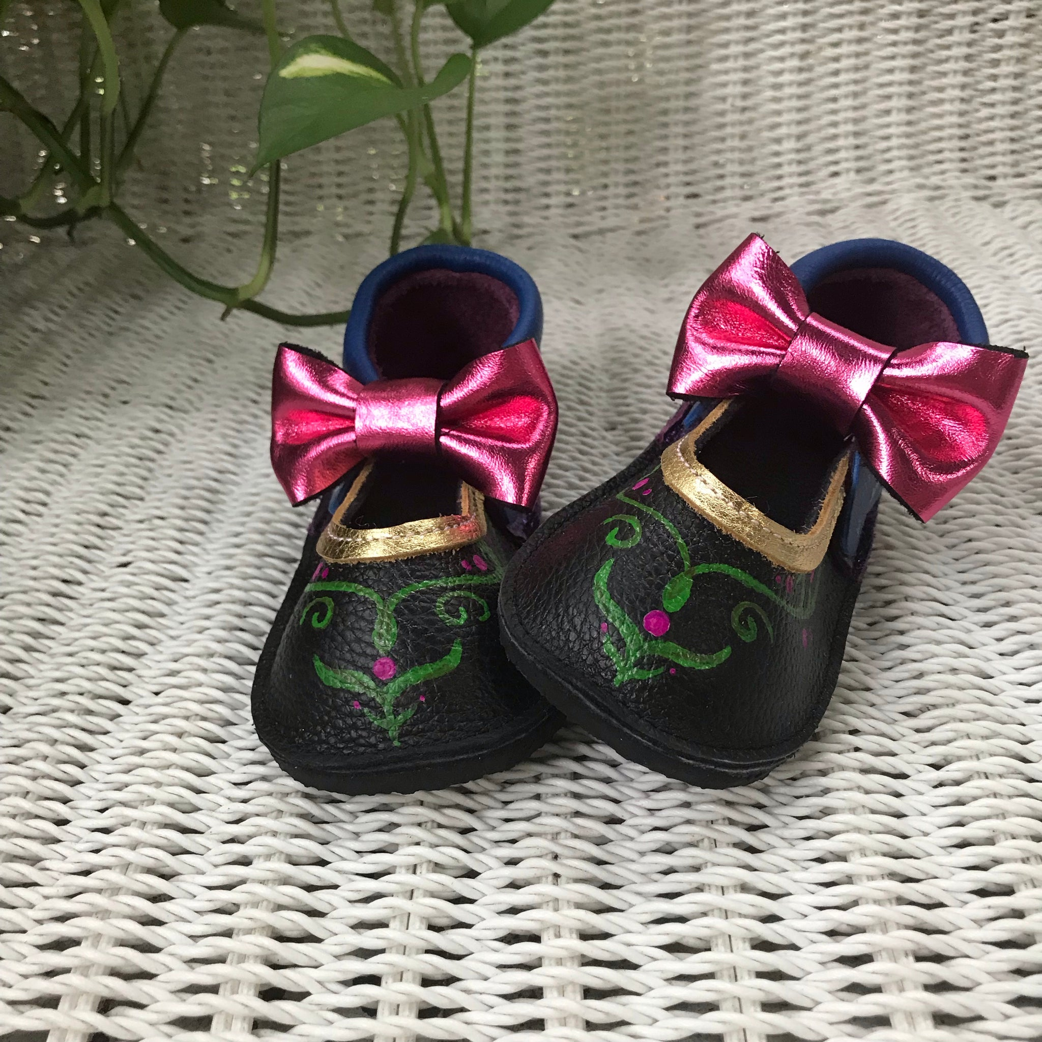 Princess Moccs with rubber soles