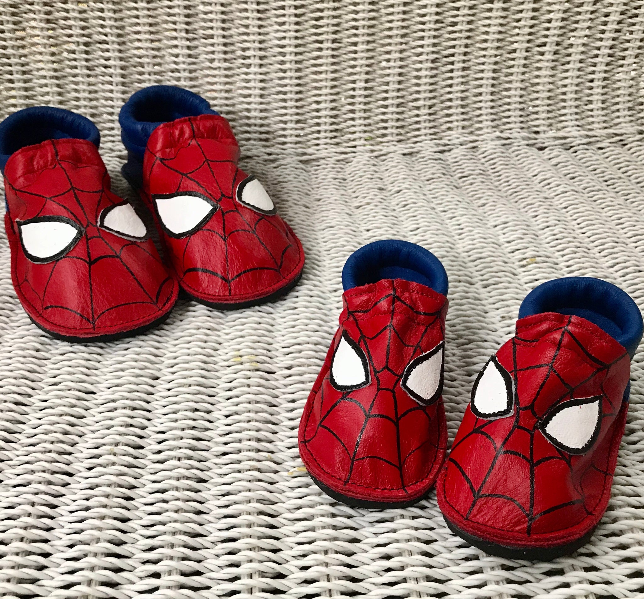 Spider Moccs with rubber soles