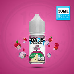 7 DAZE REDS BERRIES SALTS (ICE) 30ML NICOTINE SALT VAPE EJUICE 1 OAK WHOLESALE