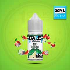 7 DAZE REDS WATERMELON SALTS (ICE) 30ML NICOTINE SALT VAPE EJUICE 1 OAK WHOLESALE