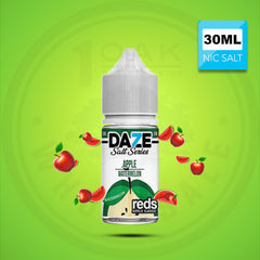 7 DAZE REDS WATERMELON SALTS 30ML NICOTINE SALT VAPE EJUICE 1 OAK WHOLESALE