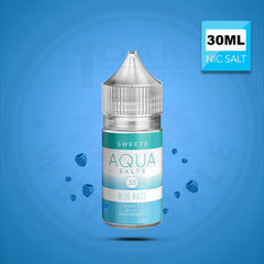 AQUA SALTS - SWEETS BLUE RAZZ 30ML