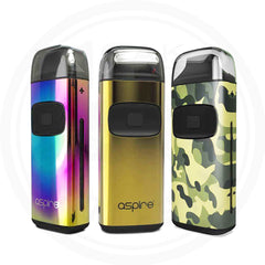 ASPIRE BREEZE LIMITED EDITION COLORS VAPE NICOTINE SALT POD SYSTEM 1 OAK WHOLESALE