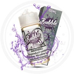 BUBBLE FACTORY - GRAPE 100ML