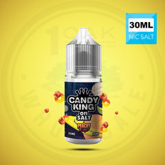 CANDY KING ON SALT - PEACHY RINGS 30ML