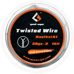 GEEKVAPE - TWISTED WIRE KANTHAL A1 (26GAx2) 15FT