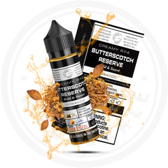 GLAS - BASIX SERIES BUTTERSCOTCH RESERVE 60ML