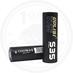 GOLISI S35 21700 3750MAH 40A VAPE BATTERY 2PACK 1 OAK WHOLESALE