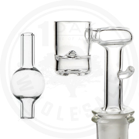 HIGH FIVE - QUARTZ E-BANGER 14M/20MM WITH CARB CAP