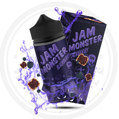 JAM MONSTER BLACKBERRY 100ML LIMITED EDITION 1 OAK WHOLESALE