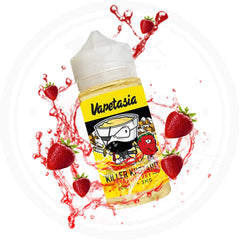VAPETASIA - KILLER KUSTARD STRAWBERRY 100ML