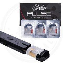 LIMITLESS MOD CO. - PULSE 2ML REFILLABLE PODS (3PCS)