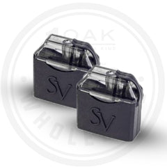 SMOKING VAPOR - MI-POD REFILLABLE 2ML PODS (2PK)