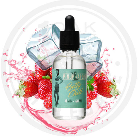 PINUP VAPORS - BETTY CHILL 60ML (msrp $28)